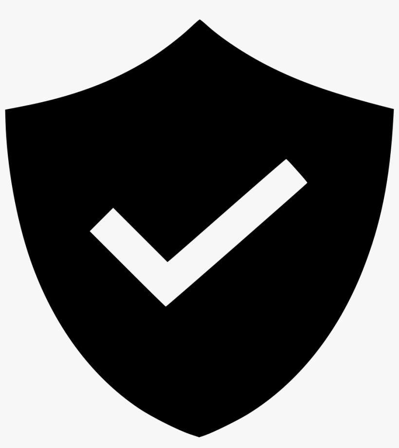 Shield Check Mark Rubber Stamp - Check Mark - Free ...