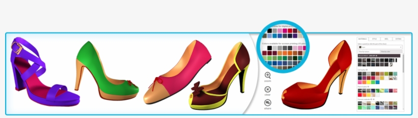 The Entire Product Is Divided Into Layers So That You - Banner Shoes Design, transparent png #2588806