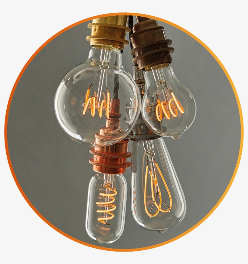 However, With A Poor Quality Led Bulb, Your Customer - Incandescent Light Bulb, transparent png #2589462