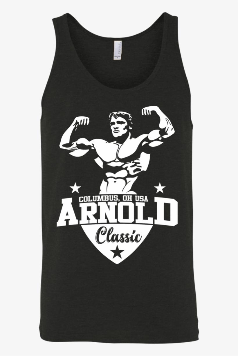 Tank Top Arnold Schwarzenegger, transparent png #2590309