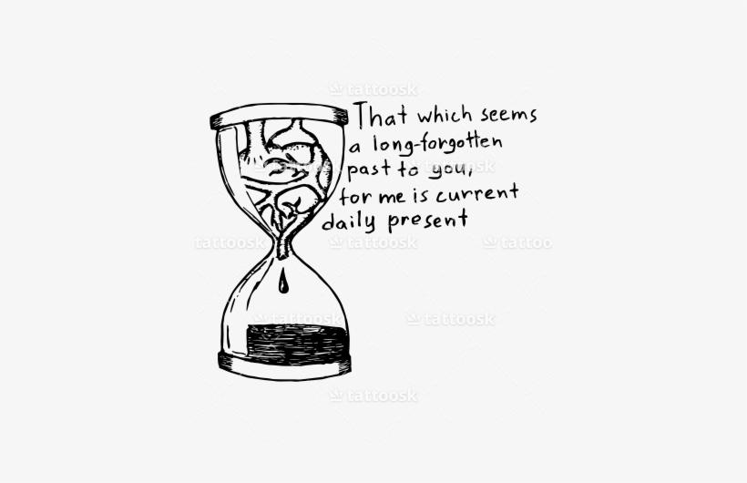 Heart In An Hourglass ❥❥❥ Https - .com, transparent png #2591053