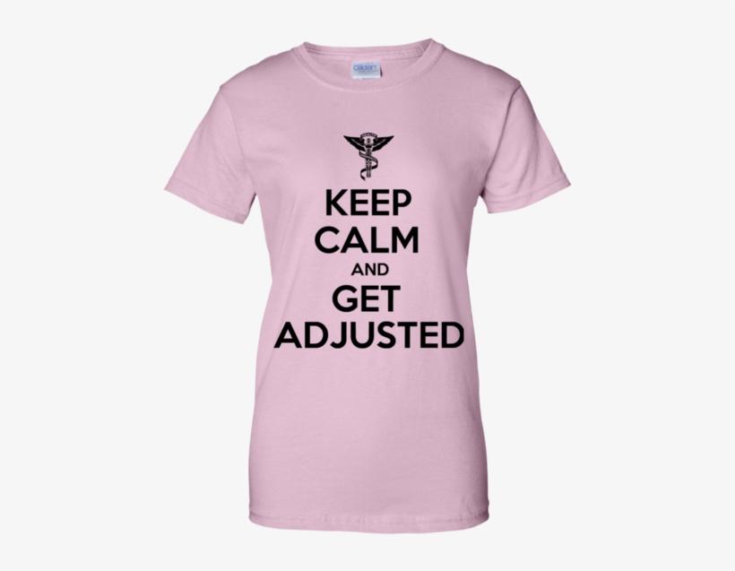 Keep Calm Ladies' 100% Cotton T-shirt - I M Aquarius And I Love Libra, transparent png #2591604