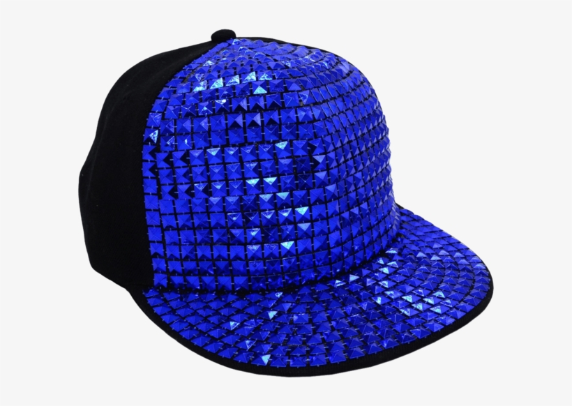 New Flat Hat Baseball Cap Hat Hip-hop Fashion Sequins, transparent png #2593306