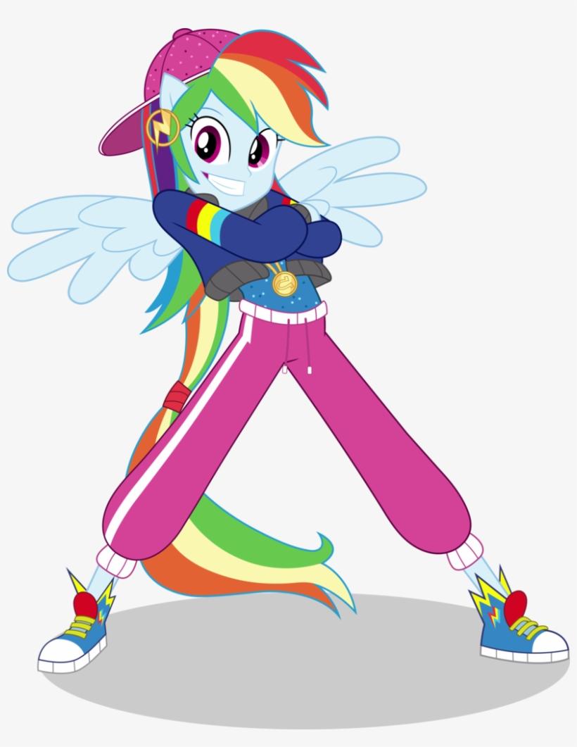 Absurd Res, Artist - Mlp Eg Dance Magic Rainbow Dash, transparent png #2593552