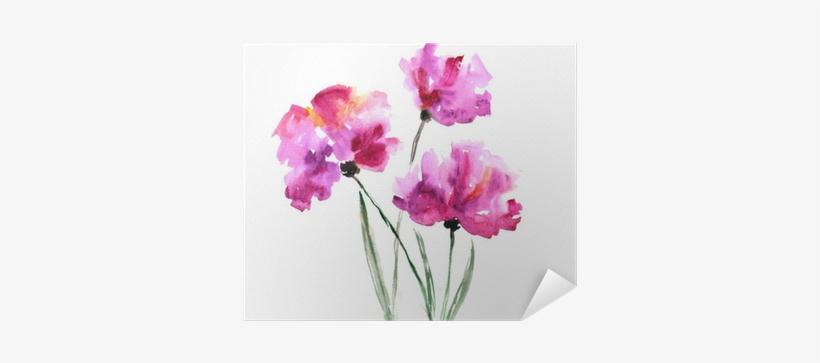 Watercolor Floral Bouquet - Abstract Watercolour Flower Bunch, transparent png #2596314