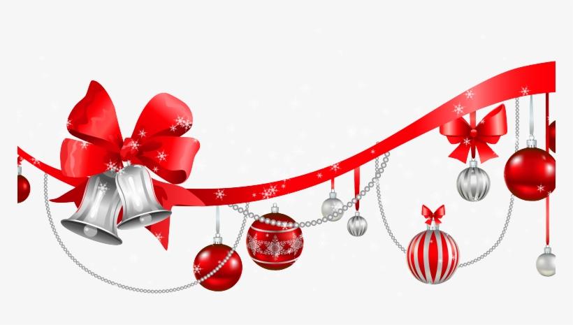 Christmas-decorations - Christmas Decor Png, transparent png #2598259