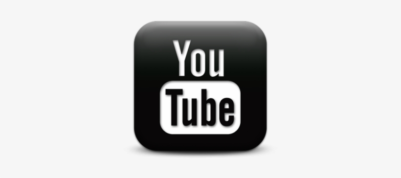 Youtube Play Button - Youtube Logo Png Transparent Background Black, transparent png #260370