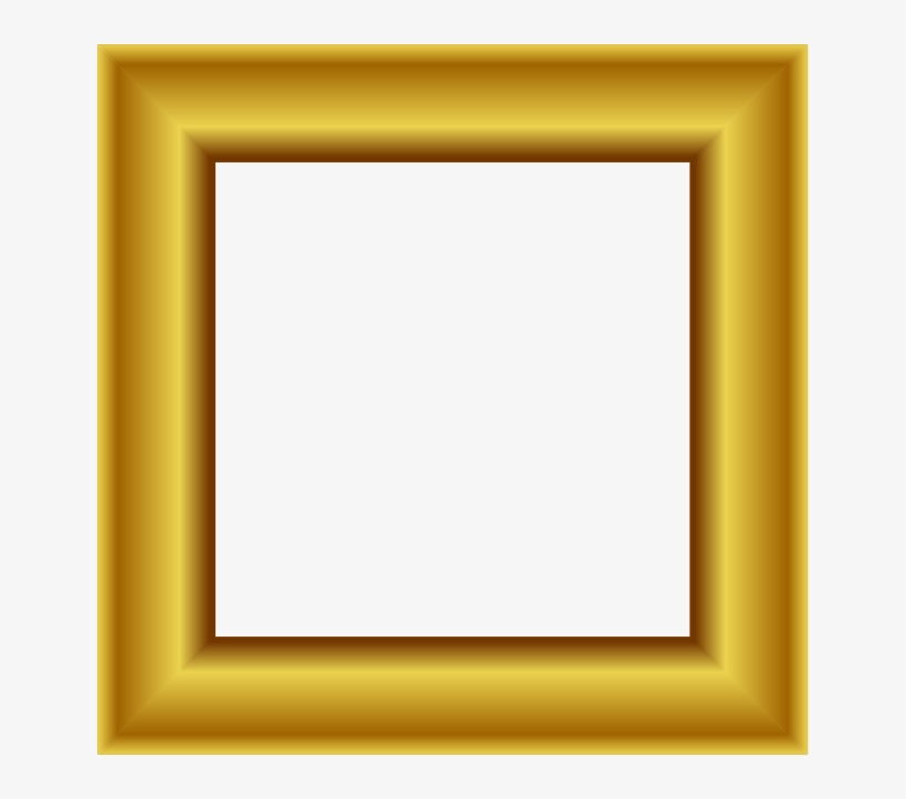 Graphic Library Library Clipart Square - Square Photo Frame Png, transparent png #260372