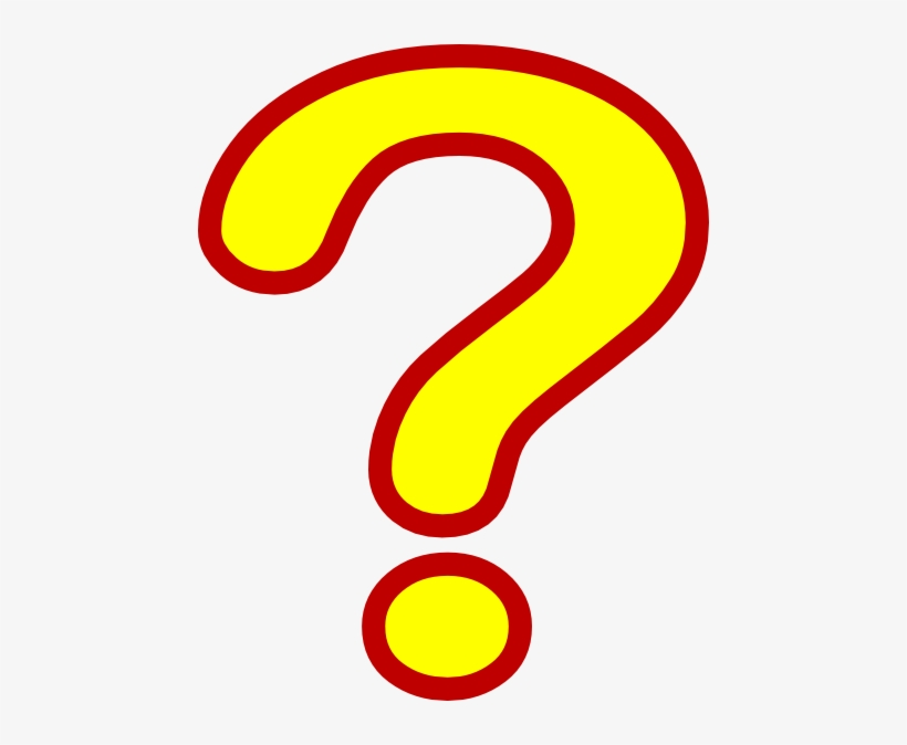 Question Mark Clipart Marl Red And Yellow Question Mark Free