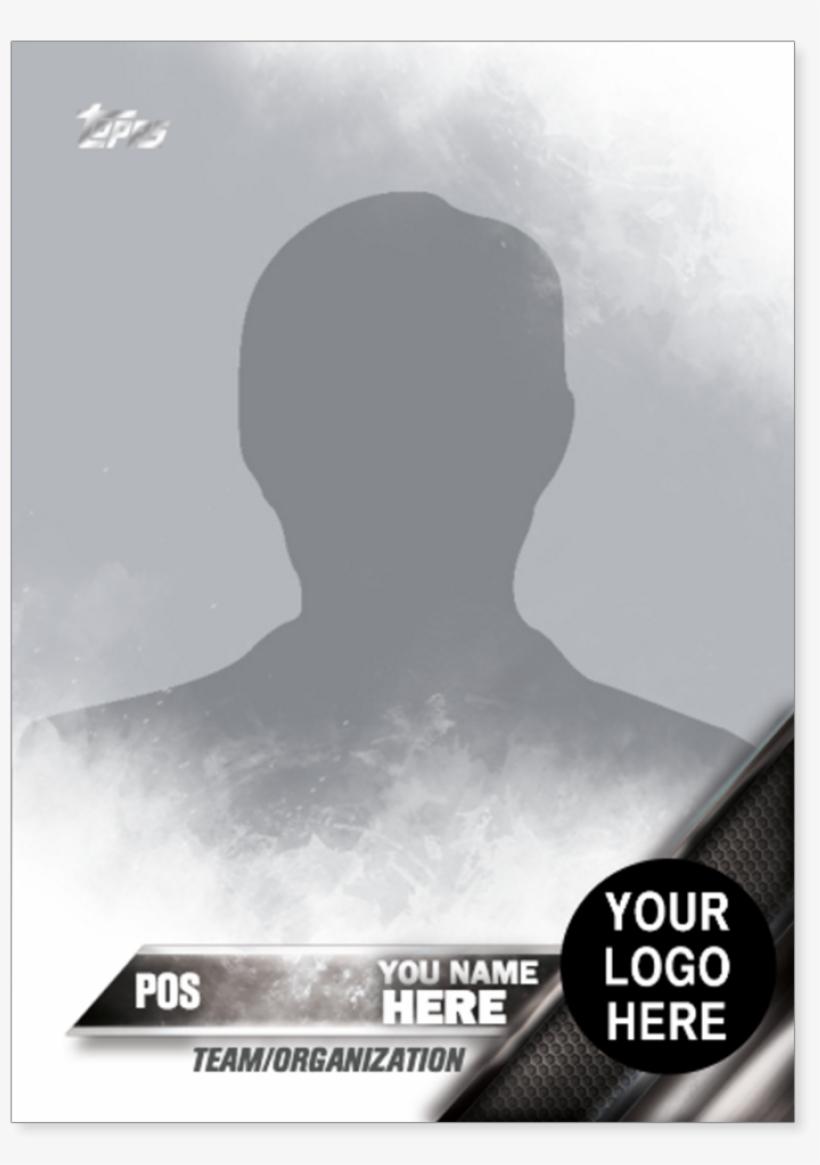 2016 Topps Series One Baseball Custom Trading Card - Baseball Card Template Png, transparent png #260967