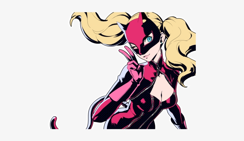 Persona 5 Ann Painting, transparent png #261008