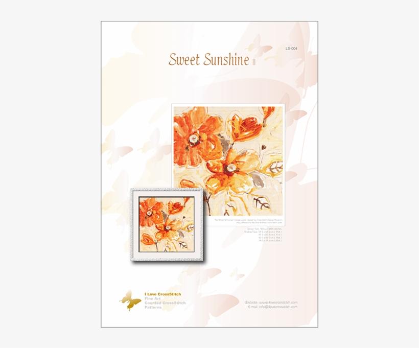 Prev - Sweet Sunshine Ii Poster Print By Lilian Scott (20, transparent png #261276