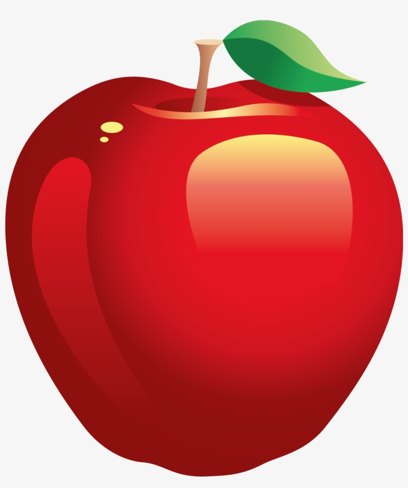 Red Apple Free Download Clip Art Free Clip Art On Clipart Transparent Background Fruit Clip Art Free Transparent Png Download Pngkey