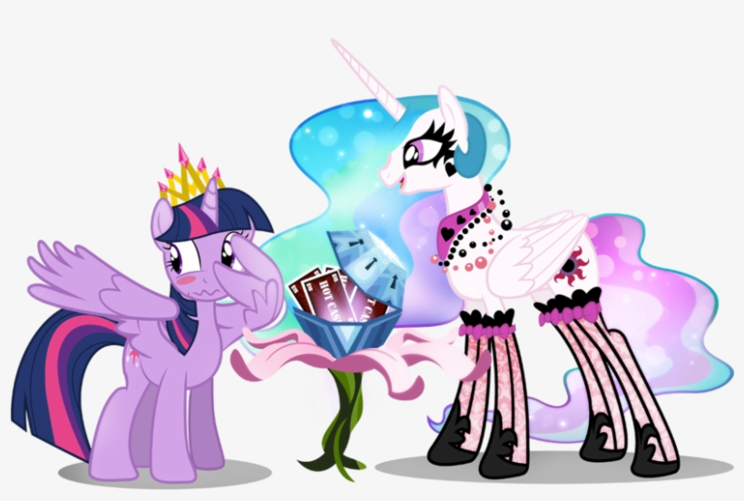 Awesome Pony Pics My Little Pony Friendship Is Magic - My Little Pony Princess Celestia, transparent png #262973