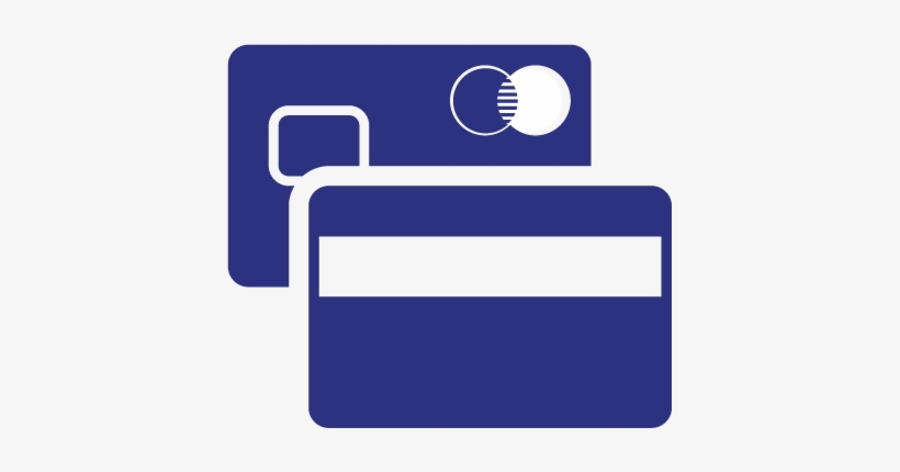 Generic Credit Card Icon Png Download - Credit Card Icon Blue Png