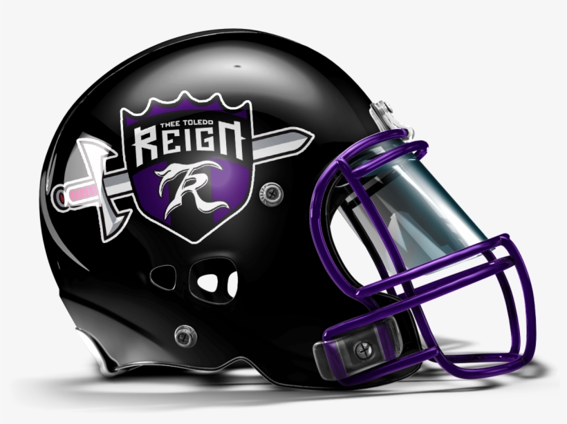 A Women Football Team, Toledo Reign, That I Helmet - Blank Red Football Helmet, transparent png #263472