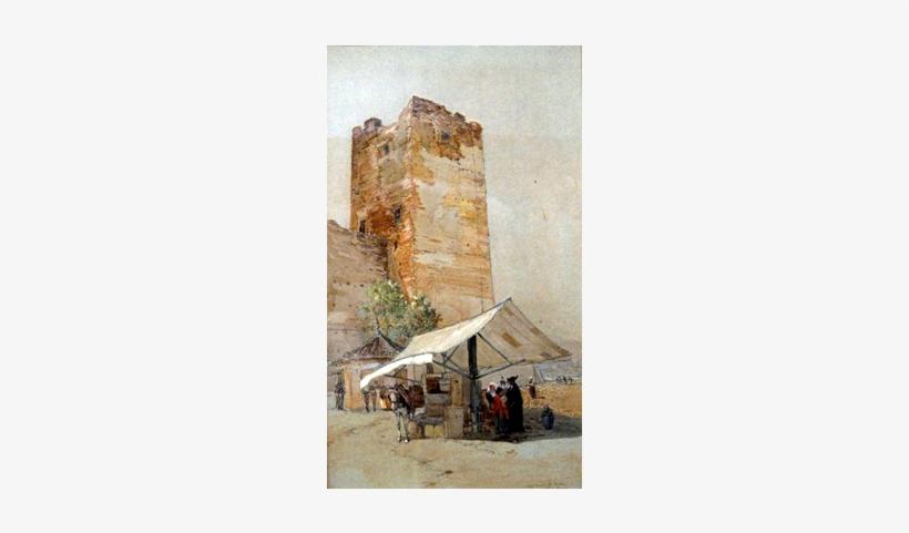 Old Moorish Well, Alhambra By Francis Hopkinson Smith - Francis Hopkinson Smith, transparent png #264469