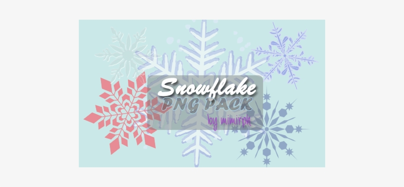 Snowflakes Png Pack - Christmas Day, transparent png #266975