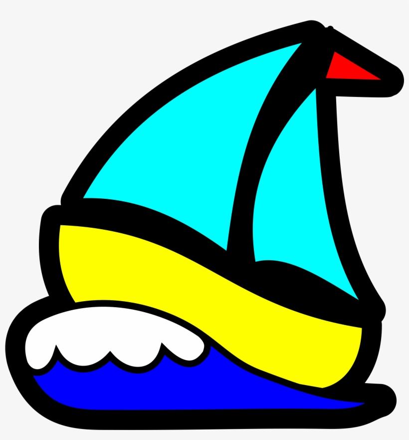 Big Image - Sail Boat Clip Art, transparent png #267086