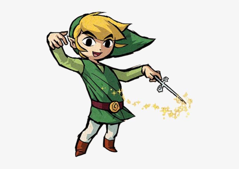 Every Legend Of Zelda Title Theme Playing At The Same - Legend Of Zelda Wind Waker Link, transparent png #267468
