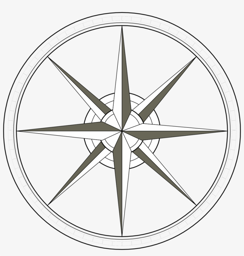 Compass vector. Clipart transparent background graphics