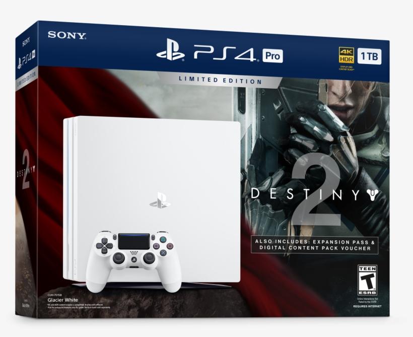 Playstation On Twitter - Ps4 Pro Destiny 2 Bundle, transparent png #268266