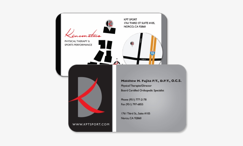 Physical Therapist Business Cards Custom Business Card - Custom Business Card, transparent png #268819