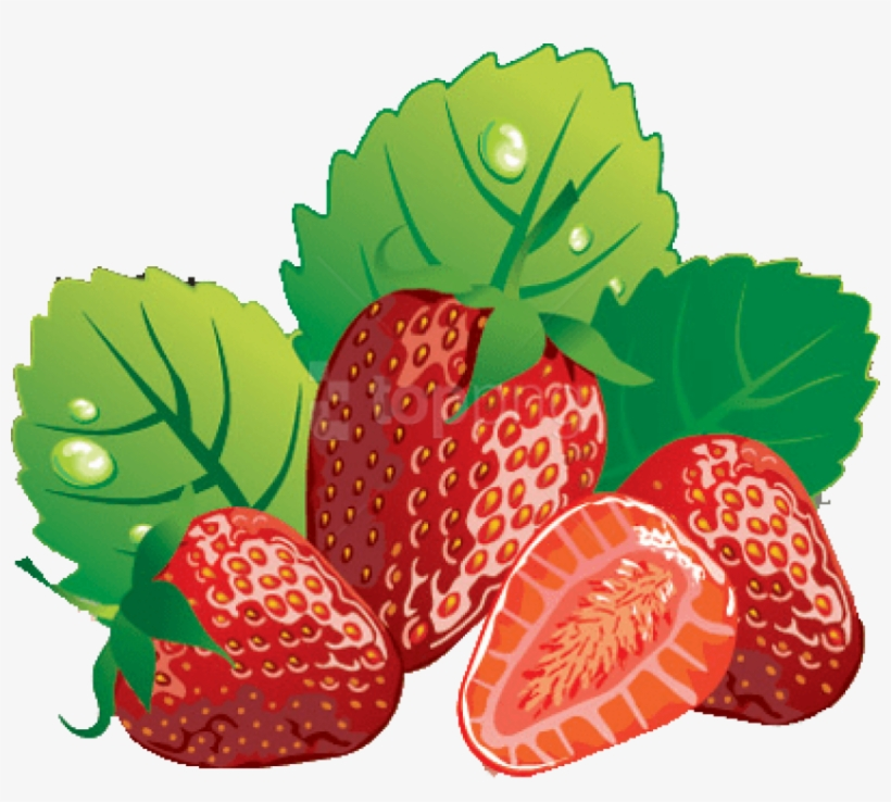 Collection Of Strawberry Clipart Free High - Free Clip Art Strawberries, transparent png #269856
