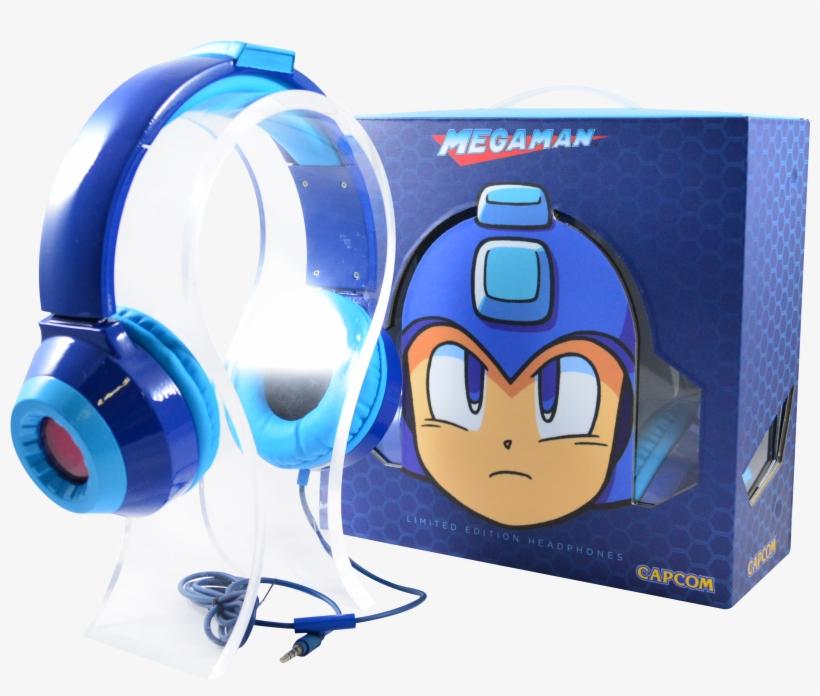 Emio's Limited Edition Mega Man Headphones - Mega Man Hd Led Limited Edition Headphones, transparent png #269954