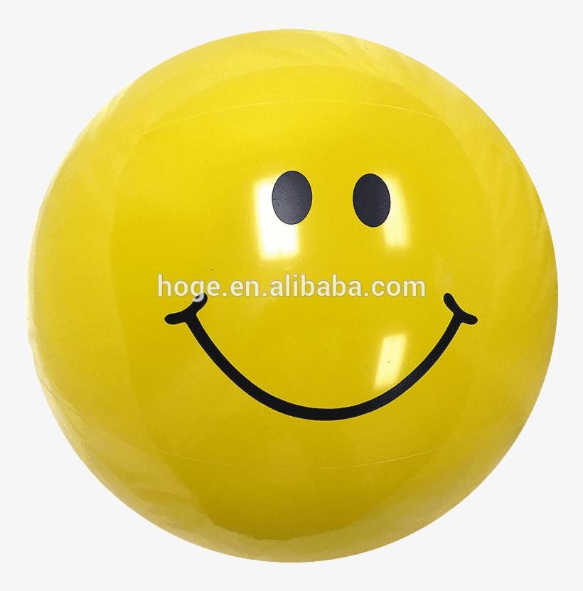 16'' Smiley Face Beach Balls - Ball, transparent png #2600570