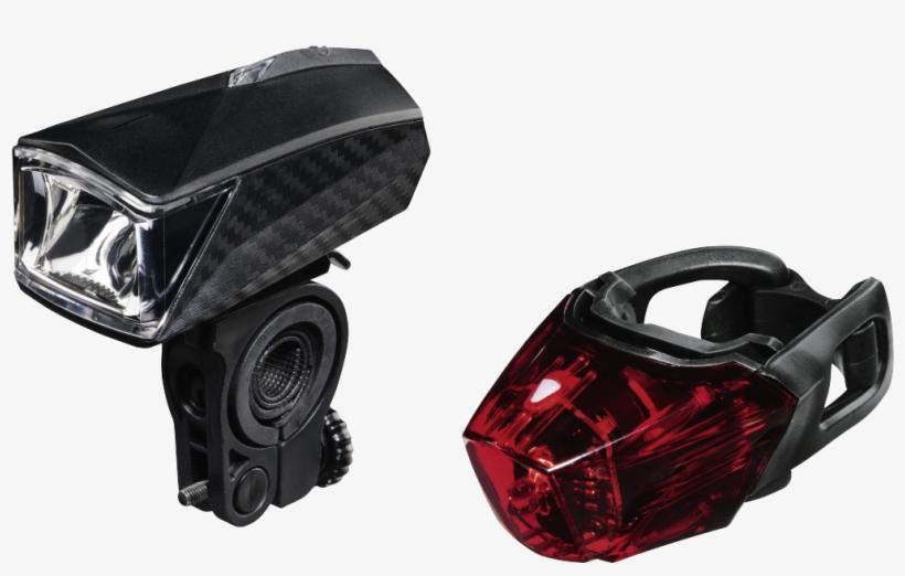 """pro L - E - D - "" Bike Light Set, Rear/front Light - Hama Pro Bike Front Light, With 1 Led, transparent png #2600779"