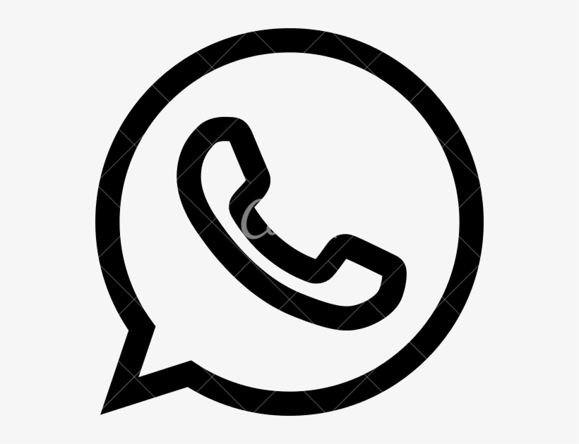 Whatsapp Icons By Canva - Whatsapp Icons Black And White