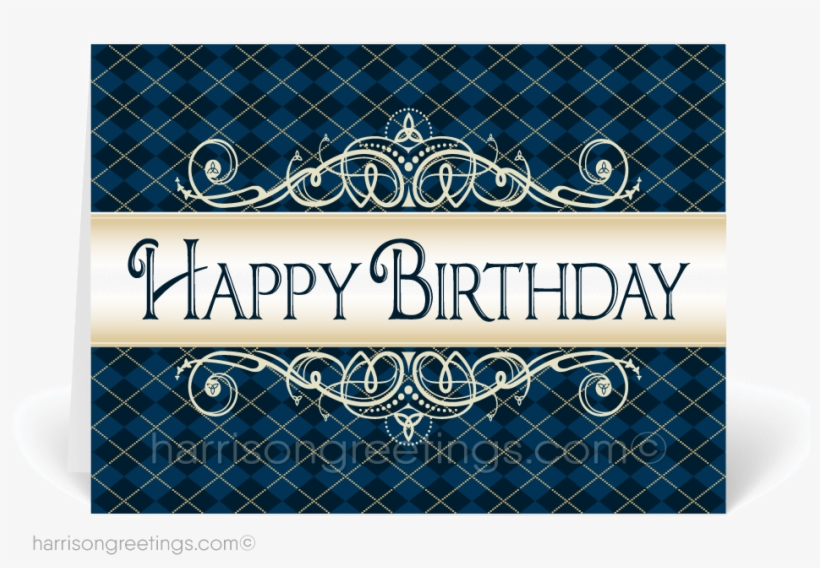 Professional Happy Birthday Cards For Customers - Professional Happy Birthday Greeting, transparent png #2601695