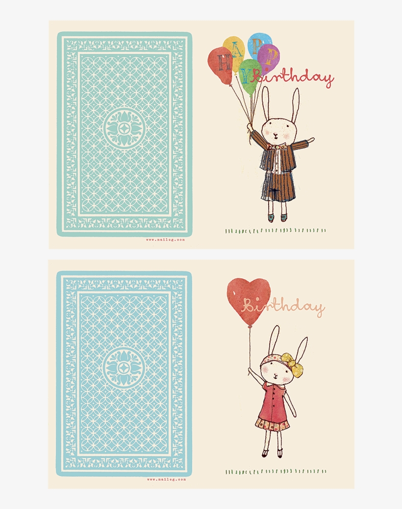 Happy Birthday Cards - Greeting Card, transparent png #2601974