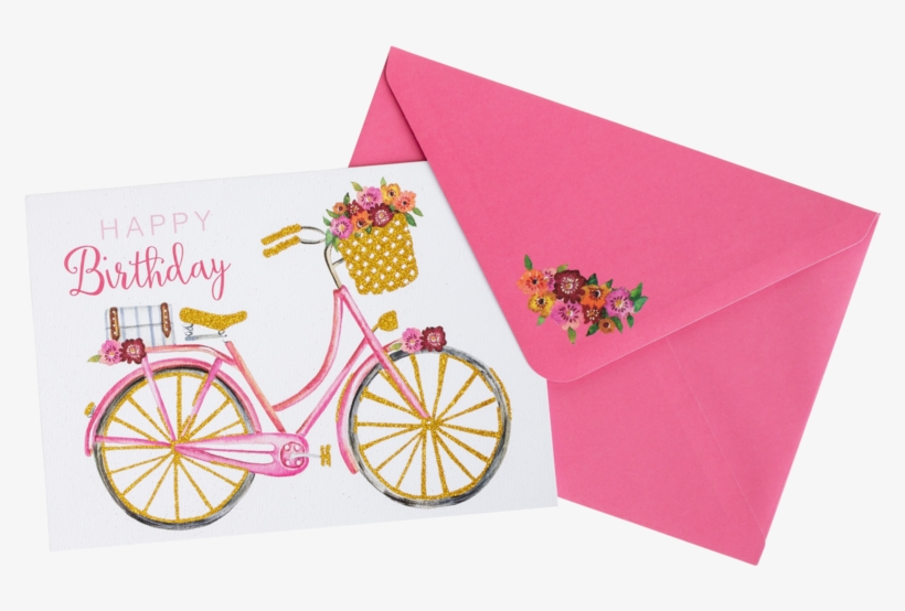 Happy Birthday Greeting Cards The Flower Luxe - Greeting Card, transparent png #2602113