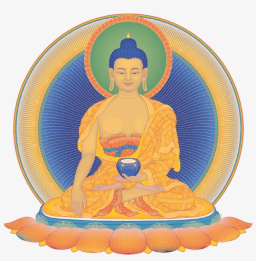 Buddha Clipart Mahayana - Kadampa Buddhism, transparent png #2603519