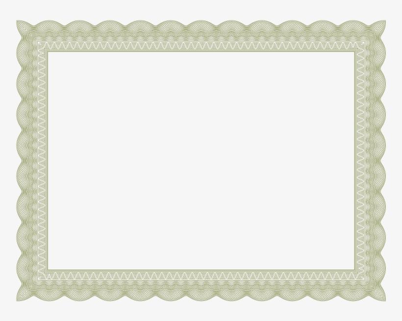 Certificate Border Design Png Gold Certificate Border Png Free