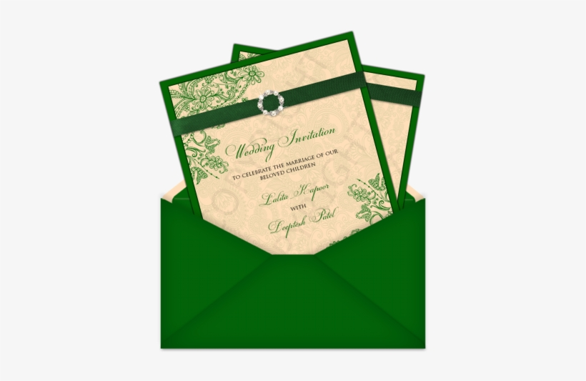 Wedding Cards Design Muslim New Letter Style Email - Indian Muslim Wedding Card Designs, transparent png #2603943
