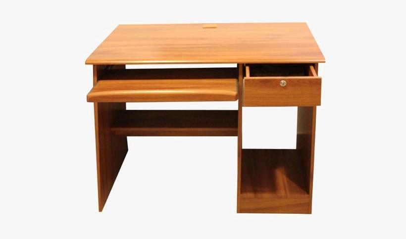 Computer Desk Png Transparent Picture - Wooden Computer Table Furniture, transparent png #2605056