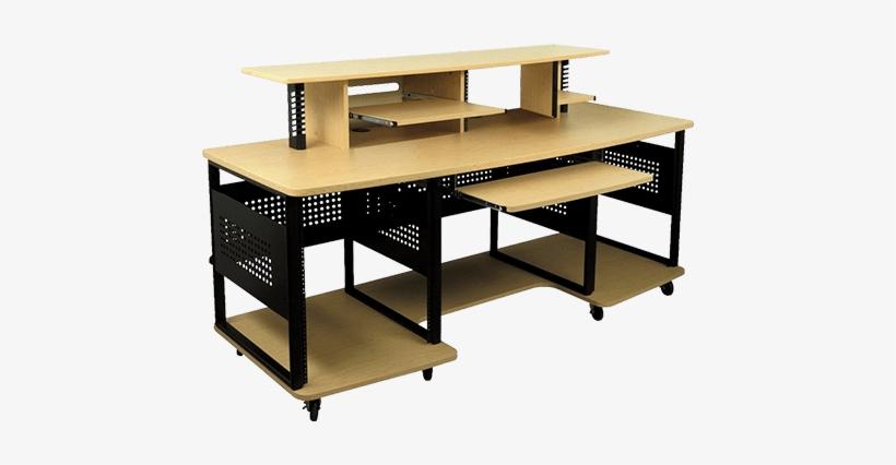 Diy Studio Desk Plans - Studio Desks, transparent png #2605168