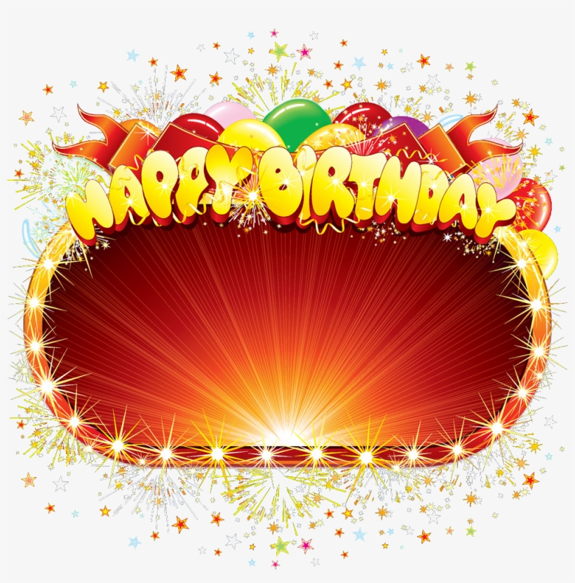 Happy Birthday To You Transparent Png