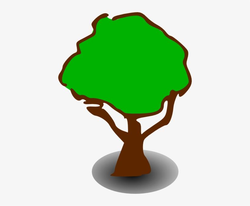 Free Vector Treerpg Map Elements Clip Art - Tree Clip Art, transparent png #2606894