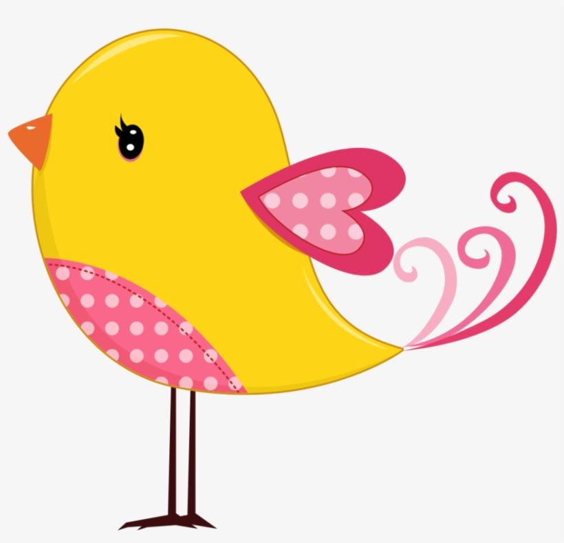 Cute Bird Svg Clipart - Desenhos De Passarinhos Fofos ...