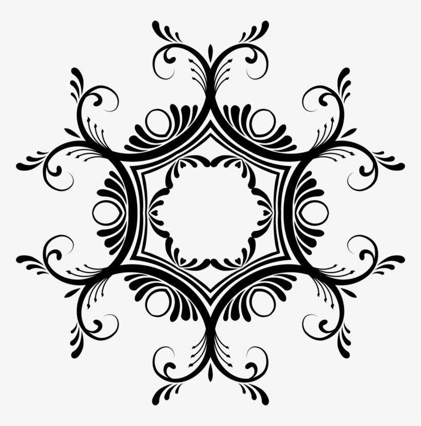 Design Black And White Pattern Border Png - best menu