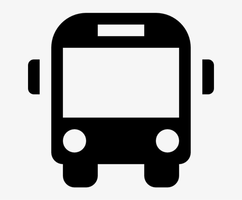 School Bus Front Free Vector Icons - Traslado Autobus, transparent png #2611435