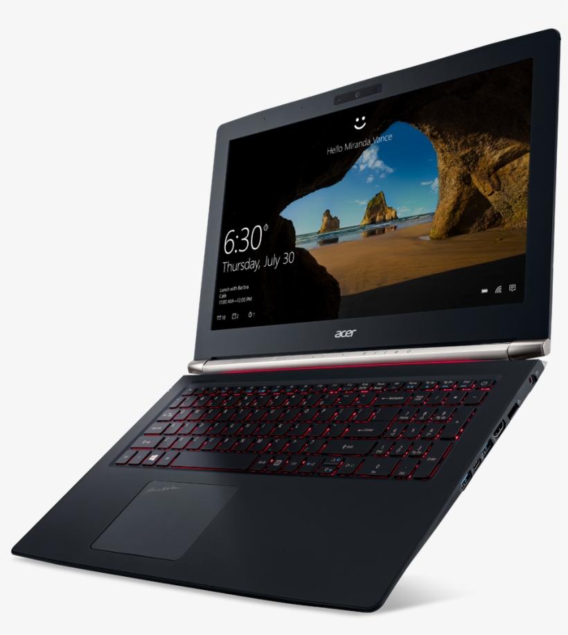 "Aspire V Nitro Black Edition 15"" Notebook Running Windows - Acer Nitro 5 Black Edition, transparent png #2612361"