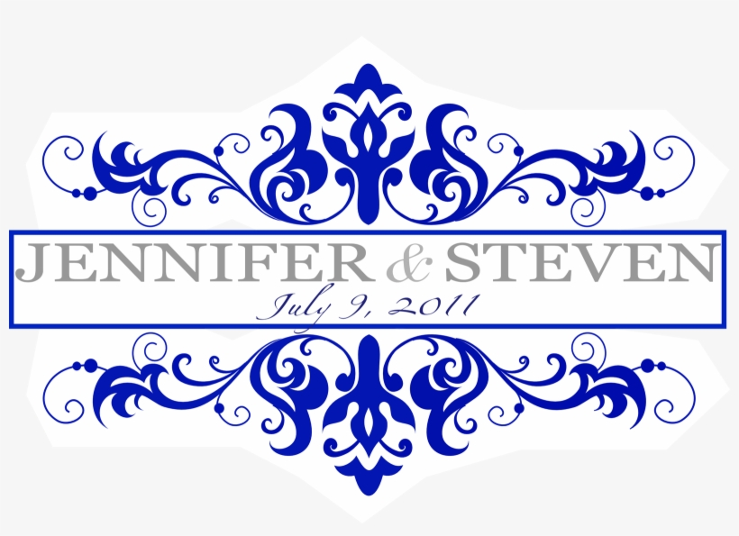 Wedding Invitation Designs Royal Blue: Royal Blue Border Design Christopherbathum Co