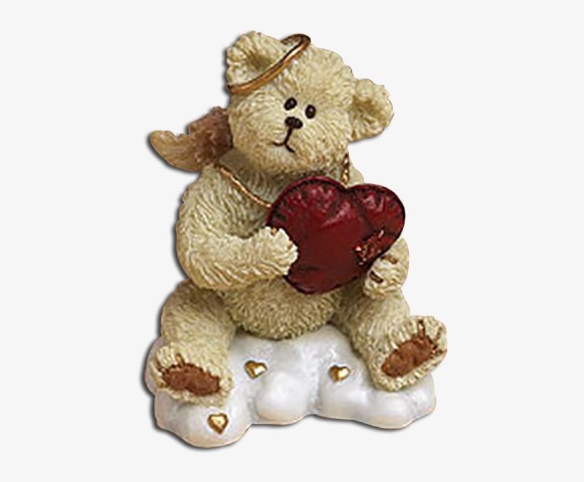 Boyds Lil Wing Valentines Bear Angel Huggy - Teddy Bear, transparent png #2615583
