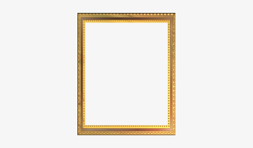 Wedding Golden Border Png - Psd, transparent png #2618331