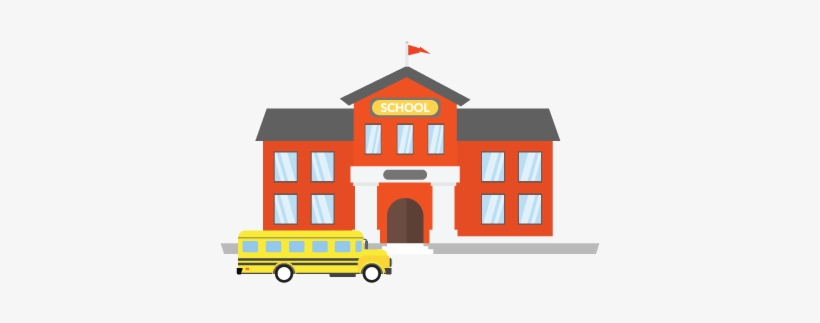 Clip Art Royalty Free Stock And School Security Typical - School Campus School Clip Art, transparent png #2618572